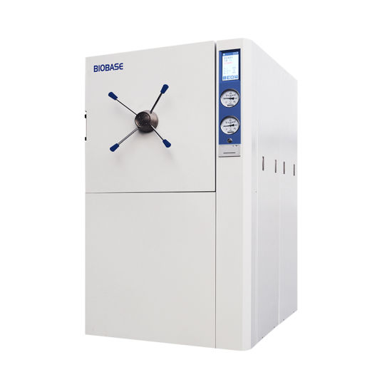 Biobase 200L LCD Touch Screen Horizontal Pulse Vacuum Autoclave pictures & photos