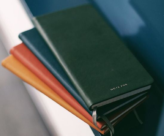 A5 Various Colors PU Leather Softcover Notebook