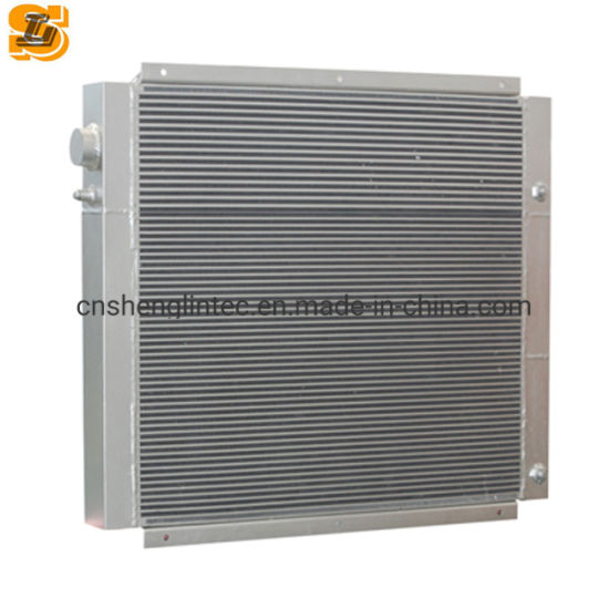 Car Cooling System Air Conditioner Aluminum Plate Fin Radiator