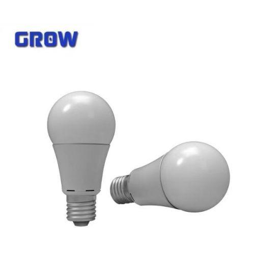 E27 Plastic+Aluminium LED Bulb Light (GR 908B)