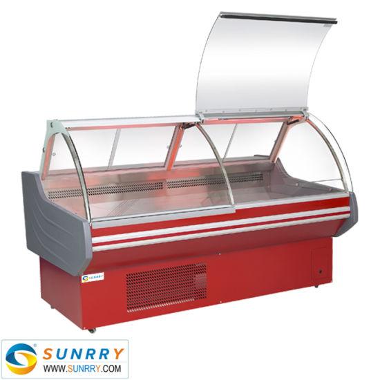 Supermarket Deli Display Refrigerator Counter