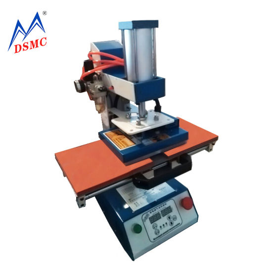 High Quality Logo Letter Bronzing Hot Stamping Machine for Leather