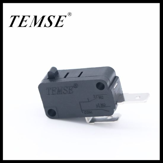 Manufactory 2pin Spst 16A250VAC Black Microswitch for Power Tool