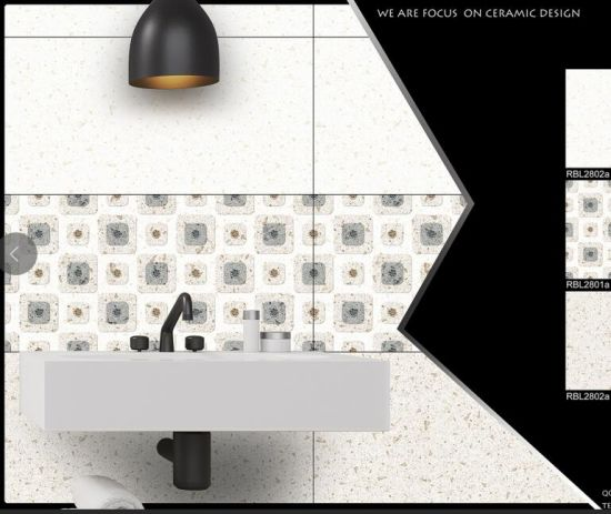 Professional 3d Glossy Front Wall Tiles Company In China 30x60