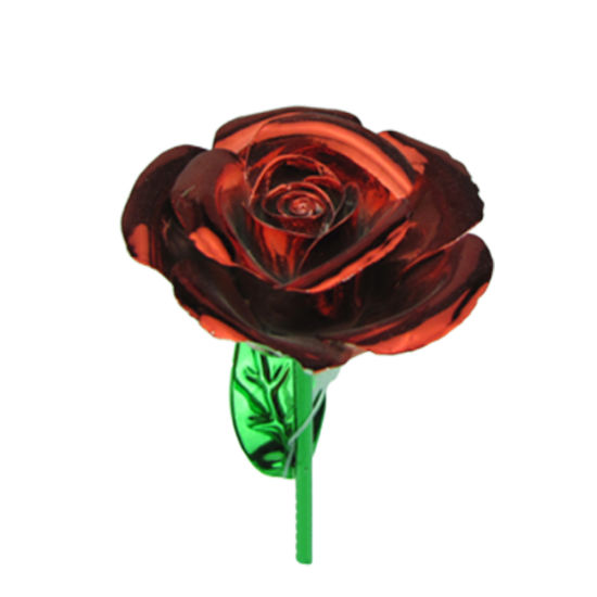 Hot Sale Plating Artificial Rose Wire for Valentine's Day