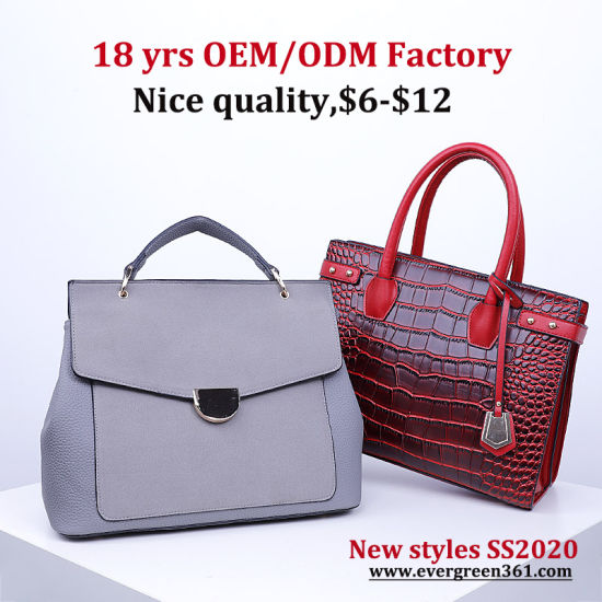 China 2020 Newest Fashion Tote Handbag