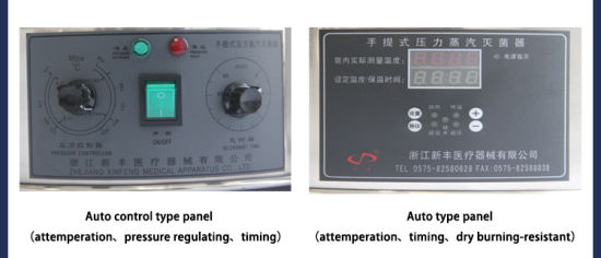 Automatic Digital Display Pressure Steam Sterilizer Autoclave (YXQ-LS-70A) pictures & photos
