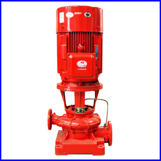 International Certified Fire Pump of Vertical Multistage Stainless Steel Fire Pump pictures & photos
