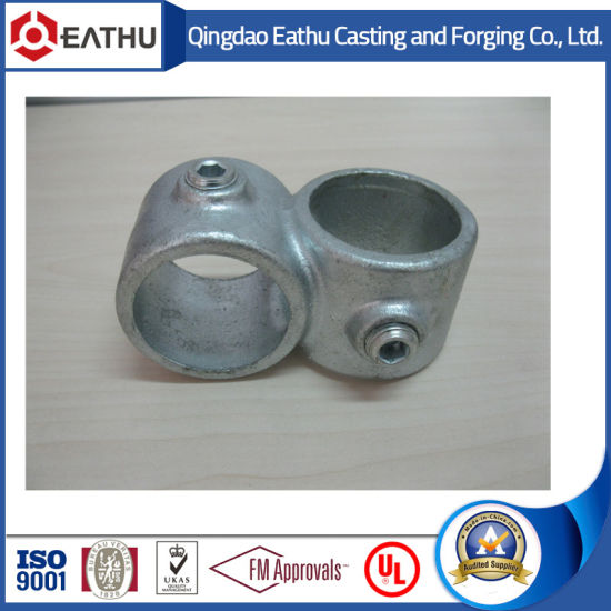 Galvanized Pipe Calmps 90 Cross Over with Code 161