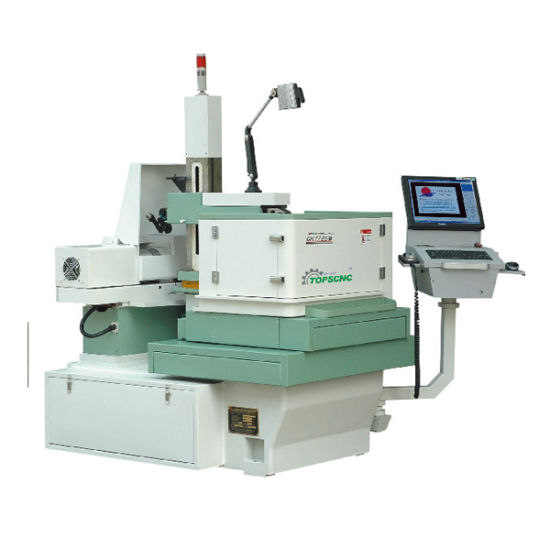 China CNC EDM Wire Cut Machine with Fast Speed Controller - China ...