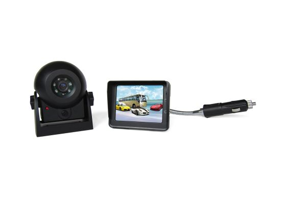 "Wireless Hitch Camera System with 3.5"" LCD Monitor and Waterproof IP68 Rear View Camera pictures & photos"