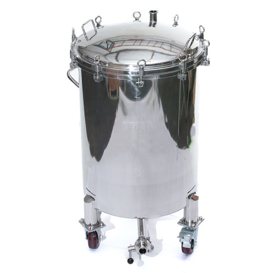 Hb60pl Wh 60 Gallon Hop Back Fermenter With Wheels
