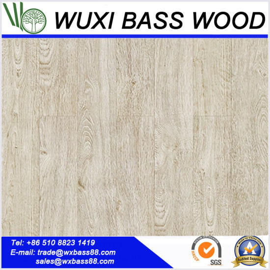 China Antique White Laminate Flooring Made Of High Quality Hdf