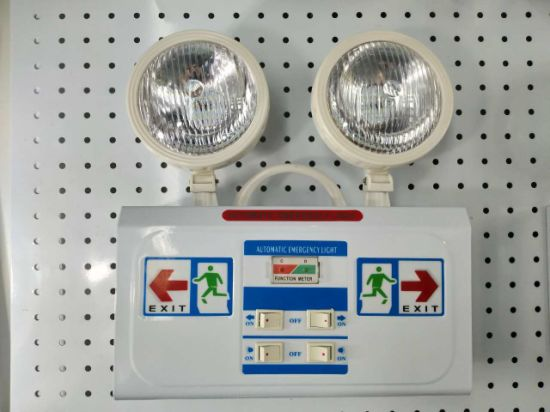 LED Emergency Light Fire Emergency Light Double Lamp Automatic Sensor Light Emergency Marker Lamp pictures & photos