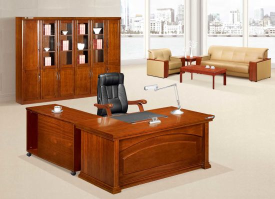 Chinese Antique Executive Desk Solid Wood Office Furniture pictures & photos