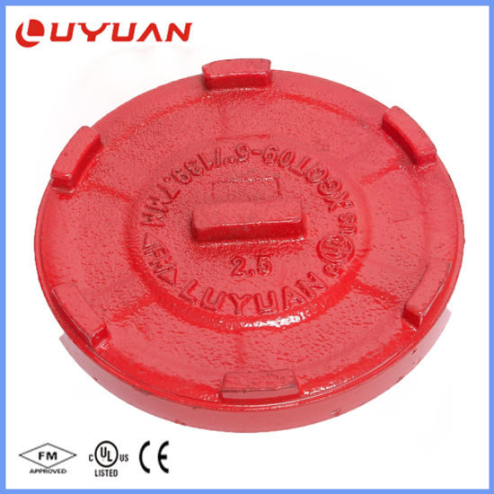 China Ductile Iron Construction Grooved End Cap1-1/4