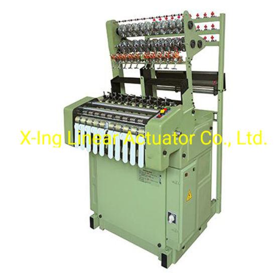 High Speed Flat Weaving Needle Loom Ribbon Knitting Machine Computerized Belt Loom