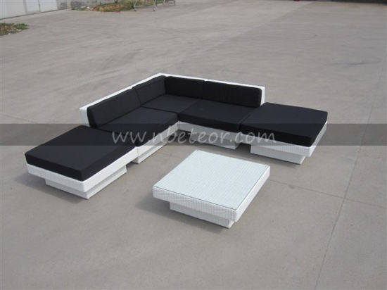 Mtc-008 L-Shape Outdoor Rattan Sofa Set 6PCS/ SGS pictures & photos