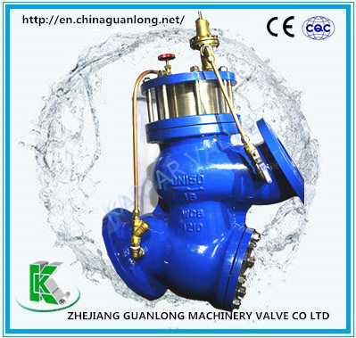 (GL98001) Buildin Strainer Piston Type Adjustable Pressure Reducing Valve pictures & photos