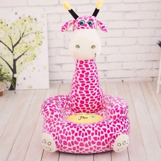 Soft Plush Animal Giraffe Baby Sofa Tatami Chair Seat