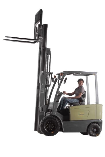 2500kgs Electric Forklift Battery Operated Forklift Truck pictures & photos