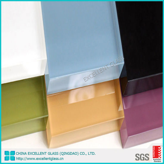 4mm 5mm 6mm Color Back Painted Splashback Tempered Glass for Kitchen with Australian Certificates