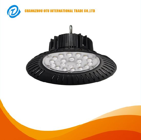 Ce RoHS IP65 Industry Aluminum Reflector UFO SMD LED High Bay Lighting Fixture for Warehouse 100W 200W pictures & photos