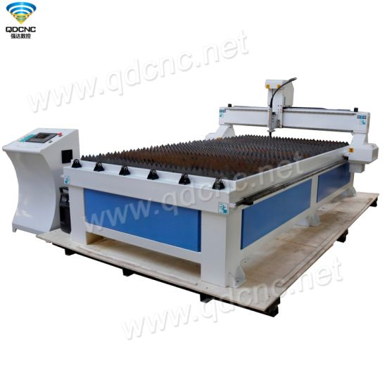 CNC Plasma Cutter Qd-1530 with Both Chinese Hua Yuan & Hyper Plasma Source Optional pictures & photos