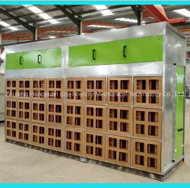 Dry Filter Spray Booths with Filter Bank for Car Wheels