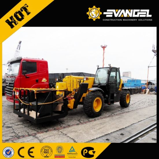 Xcm Brand 14m Lifting Height Telescopic Forklift Xt670-140 pictures & photos