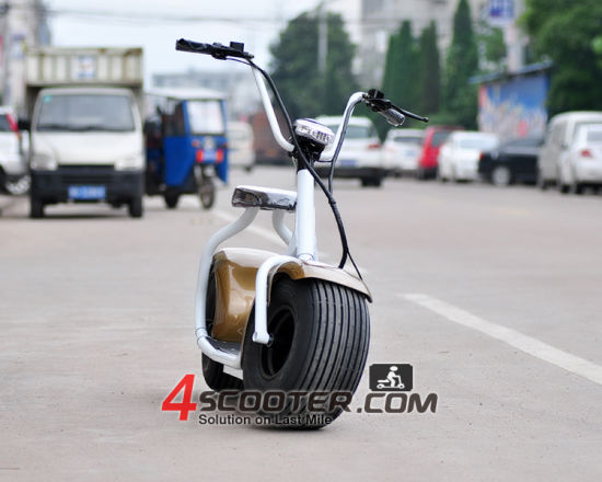 Hot Selling 1000W Brushless Motor Electric Scooter Citycoco with Classic and Simpl Design pictures & photos
