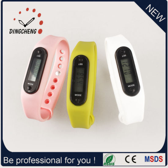 Branded Watch Christmas Gift Watches Pedometer Wristwatches (DC-003) pictures & photos