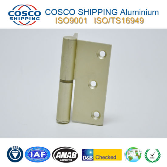 Customized Aluminum Hinge with ISO9001: 2008 Certificated pictures & photos