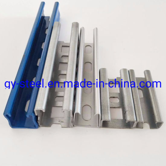 GB ASTM JIS Galvanized Structural Steel U Channel, V Shaped Steel Channels, C Channel