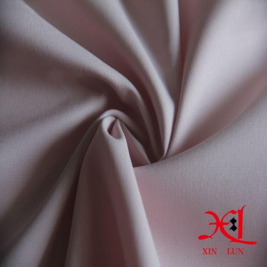 Woven Textile Plain Dyed Spandex Cotton Fabric for Uniform