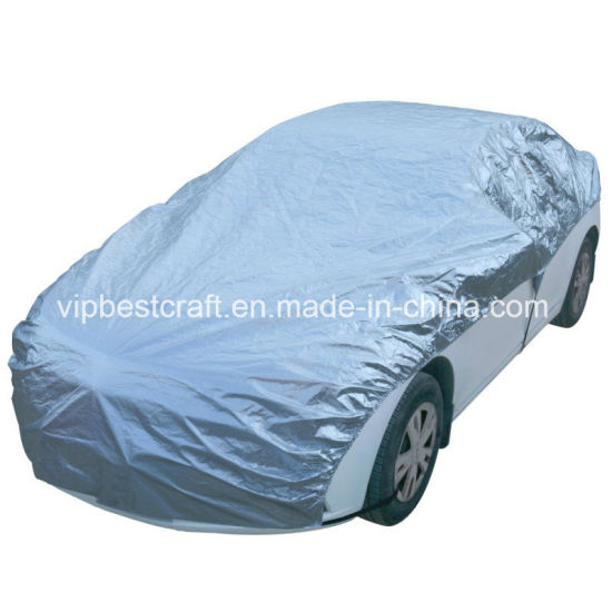 Aluminum Cool Car Cover, Superior Protect From The Sunshine--Cool Your Cars in The Hot Weathers--Easy Setup- Cars up to 180''