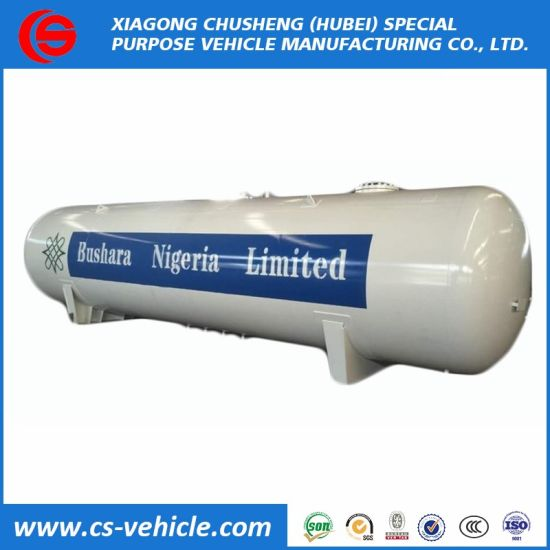 Bottom Price 30tons LPG Bullet Tank, 60m3 60000liter Toroidal LPG Gas Storage Tank for Sale pictures & photos