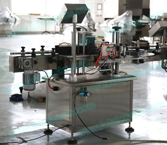 Automatic Single Wrap Labeling Machine for Round Bottle/Can (LB-100A) pictures & photos