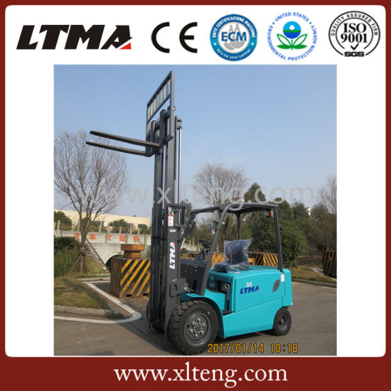Ltma 3.5 Ton Battery Forklift Truck for Sale pictures & photos