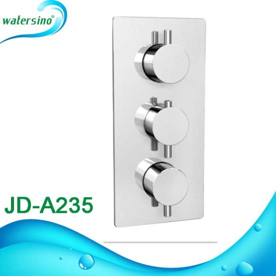 Brass Wall Mounted Digital Thermostat Bath Shower Mixer pictures & photos