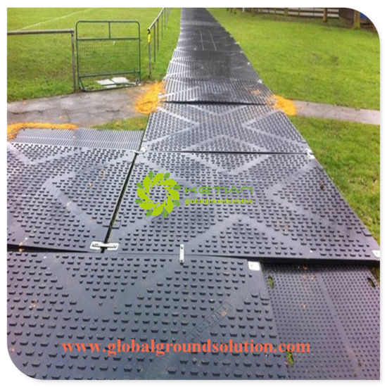 China Hdpe Track Floor Protection Mats Hdpe Plastic Temporary