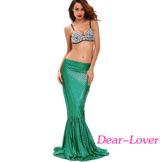 Deluxe Under The Sea Mermaid Halloween Costume pictures & photos