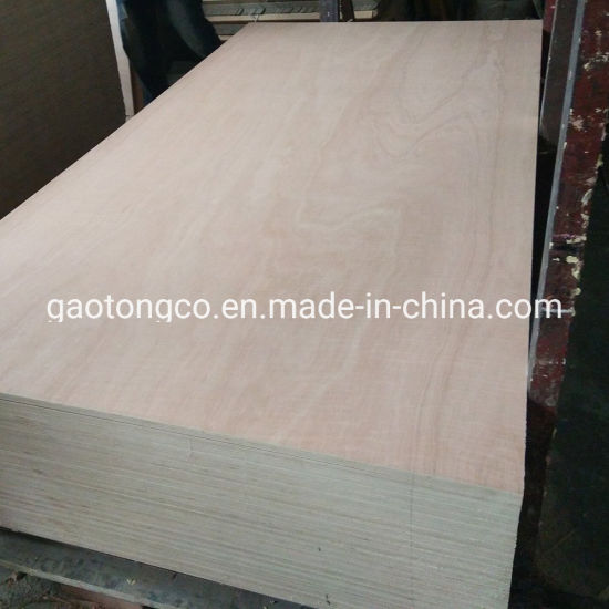 2.7 mm 4mm Thick 2.44X1.22m Red Meranti Plywood Furniture Cabinets Plywood with High Quality