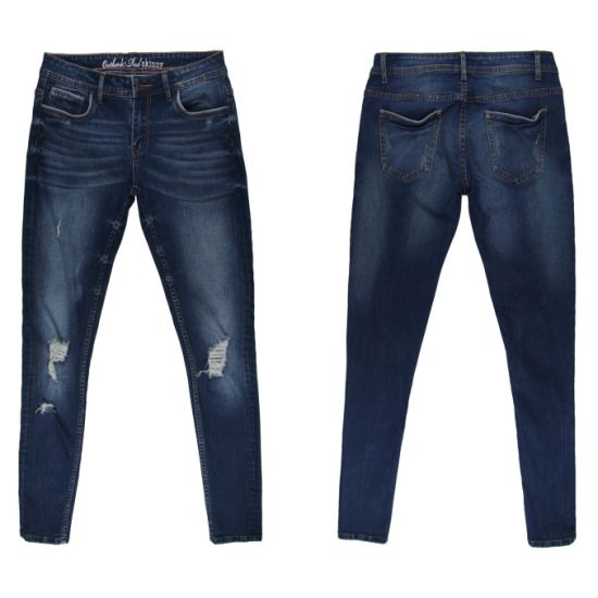 New Comfortable Lady′s Fashion Summer Jeans of 2017 (MYB04) pictures & photos
