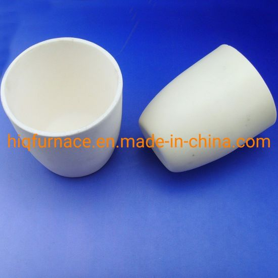 Hot Selling Customize 95% Alumina Ceramic Crucible Product, 99.3%-99.7% High Purity Alumina Ceramic Melting Metal Crucible