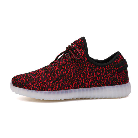 f2cc5a8f0 Yeezy Wholesale Shoes USB Charger Light up LED Shoes for Women pictures    photos