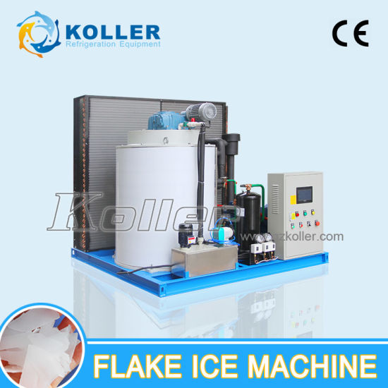 5 Tons Sea Water Flake Ice Making Machine for Fishing Boat (KP50) pictures & photos