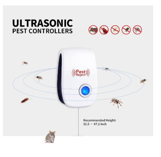 Ultrasonic Pest Repeller Mosquito Mouse Rat Multi-function Insect Repellent