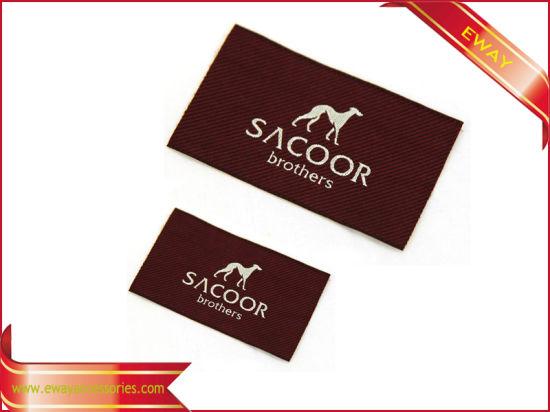 Quality Garment Woven Main Label Fabric Brand Label