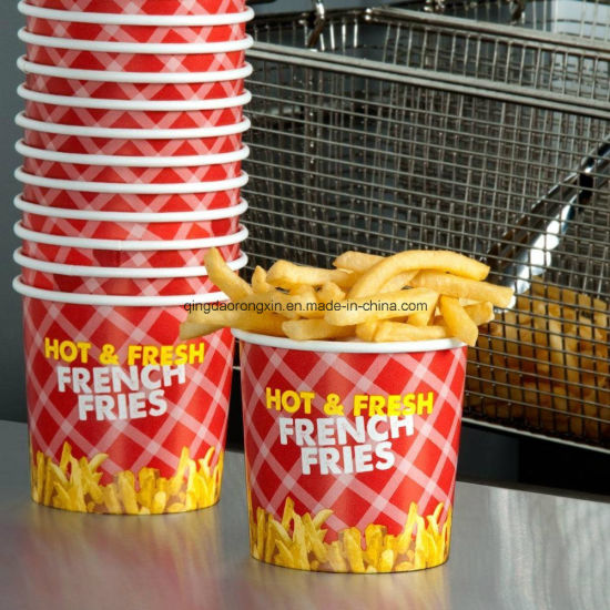 PE Coated French Fries Packaging Paper pictures & photos